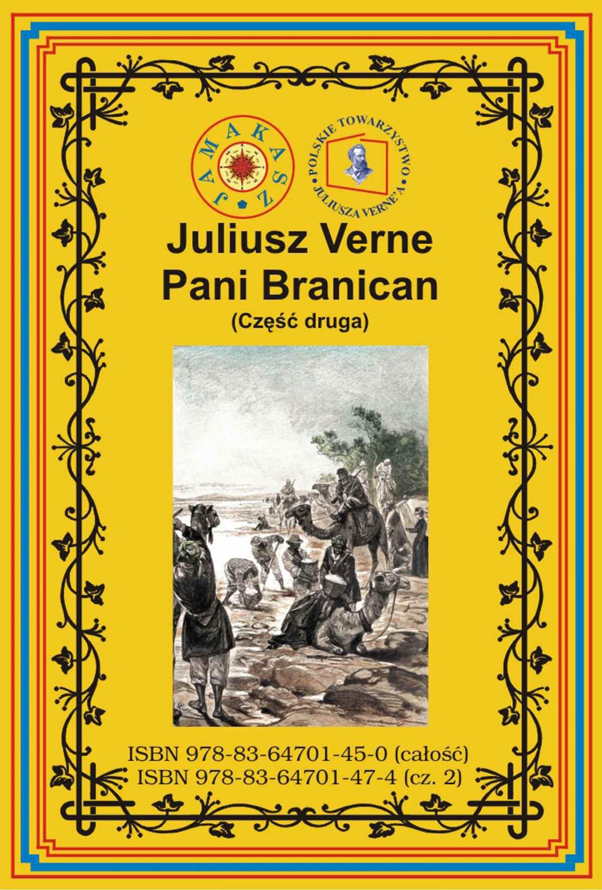 Pani Branican. Część druga - Ebook (Książka PDF) do pobrania w formacie PDF