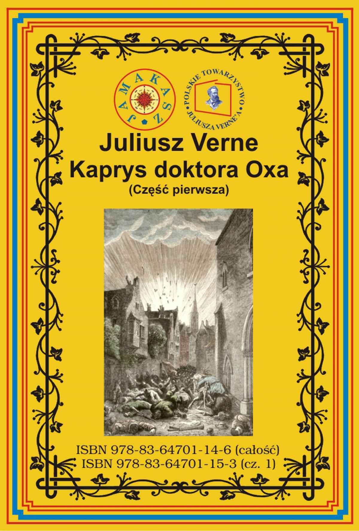 Kaprys doktora Oxa. Część pierwsza - Ebook (Książka na Kindle) do pobrania w formacie MOBI