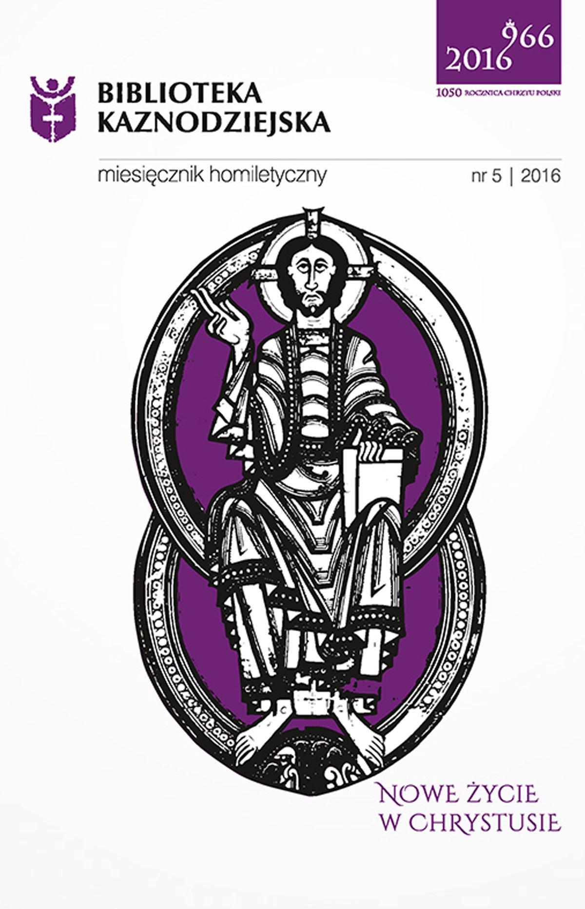 Biblioteka Kaznodziejska nr 05/2016 - Ebook (Książka EPUB) do pobrania w formacie EPUB