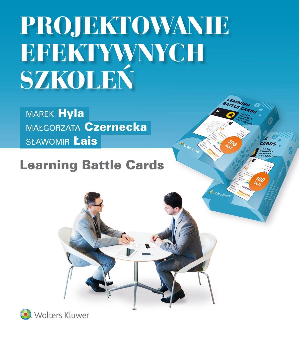 Projektowanie efektywnych szkoleń. Learning Battle Cards - Ebook (Książka EPUB) do pobrania w formacie EPUB