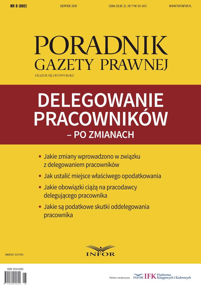 Delegowanie pracowników – po zmianach - Ebook (Książka PDF) do pobrania w formacie PDF