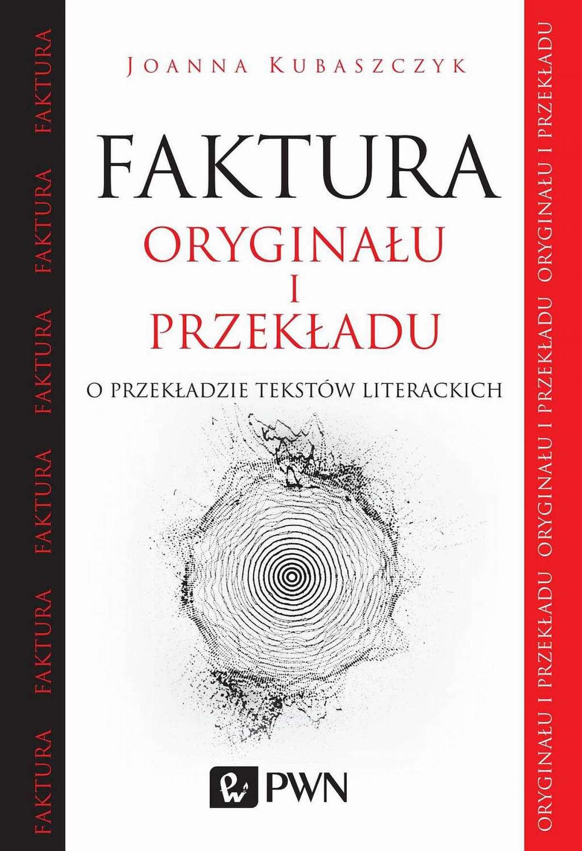 Faktura oryginału i przekładu - Ebook (Książka EPUB) do pobrania w formacie EPUB
