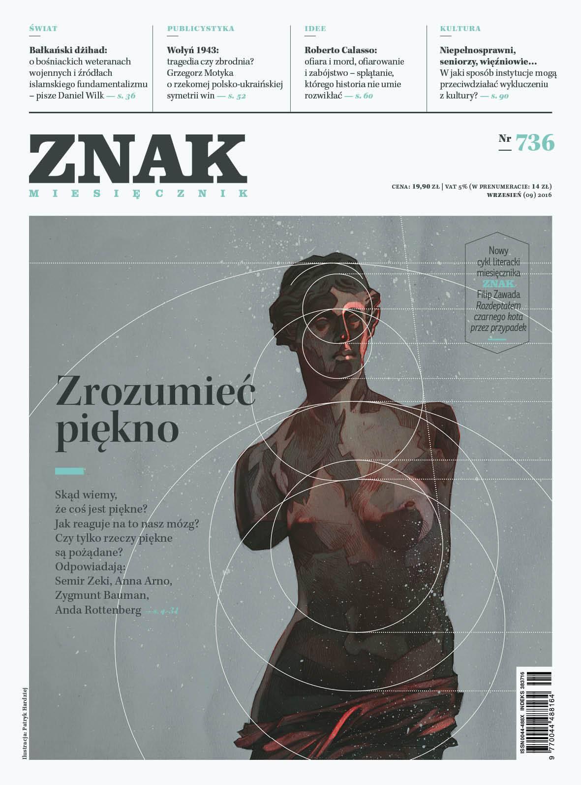 Miesięcznik Znak nr 736: Zrozumieć piękno - Ebook (Książka EPUB) do pobrania w formacie EPUB
