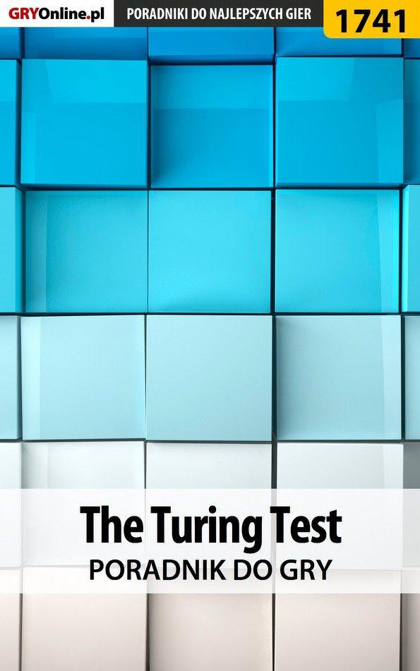 The Turing Test - poradnik do gry - Ebook (Książka EPUB) do pobrania w formacie EPUB
