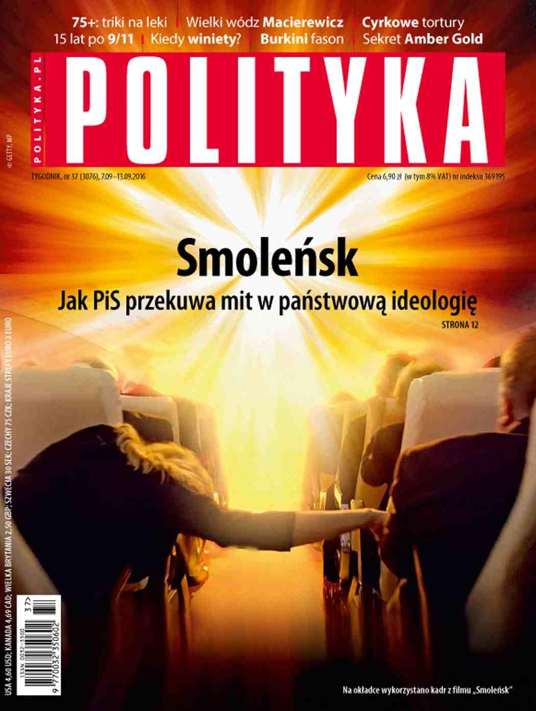 Polityka nr 37/2016 - Ebook (Książka PDF) do pobrania w formacie PDF