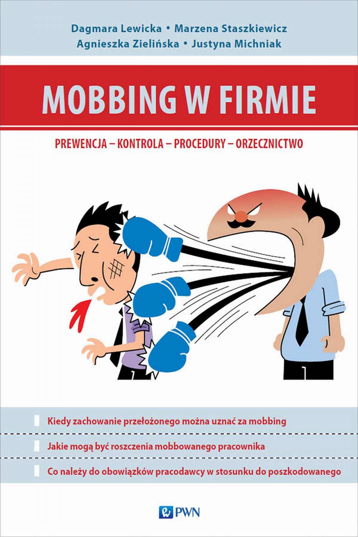 Mobbing w firmie - Ebook (Książka na Kindle) do pobrania w formacie MOBI