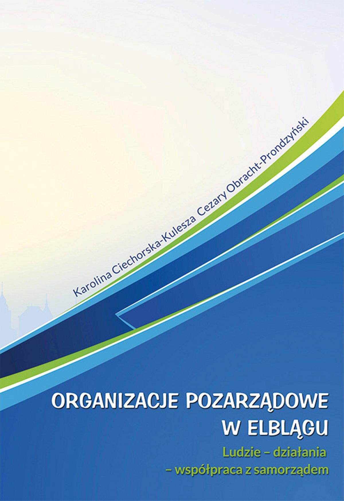Organizacje pozarządowe w Elblągu - Ebook (Książka EPUB) do pobrania w formacie EPUB