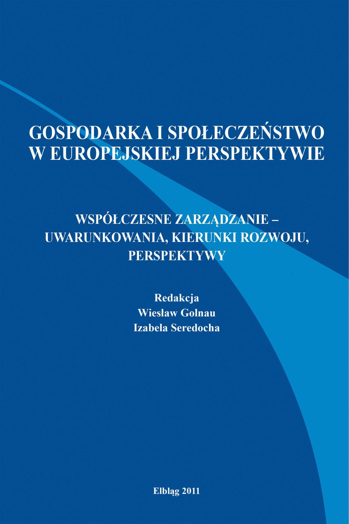 Gospodarka i społeczeństwo w europejskiej perspektywie - Ebook (Książka PDF) do pobrania w formacie PDF