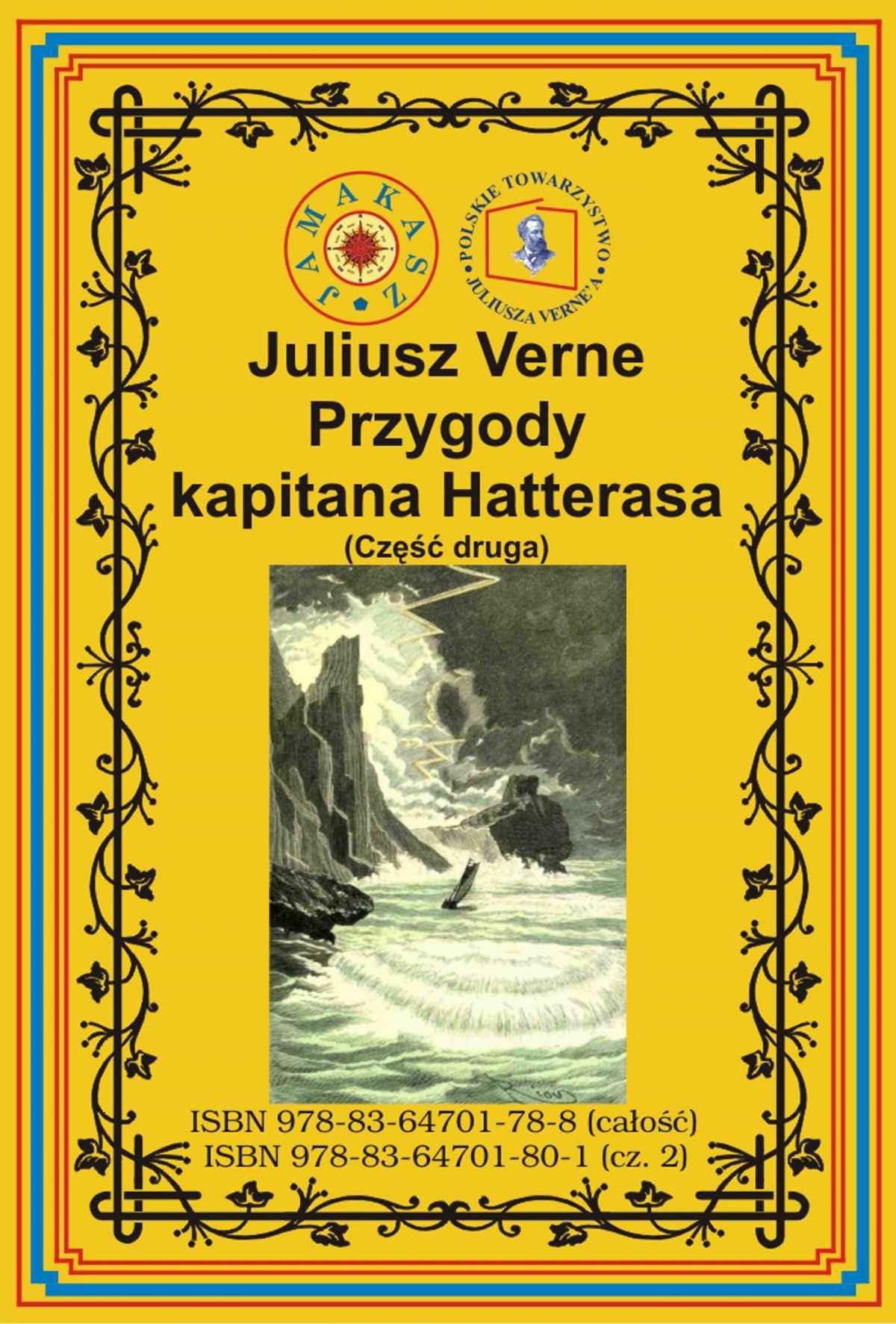 Przygody kapitana Hatterasa. Część druga. Pustynia lodowa - Ebook (Książka na Kindle) do pobrania w formacie MOBI