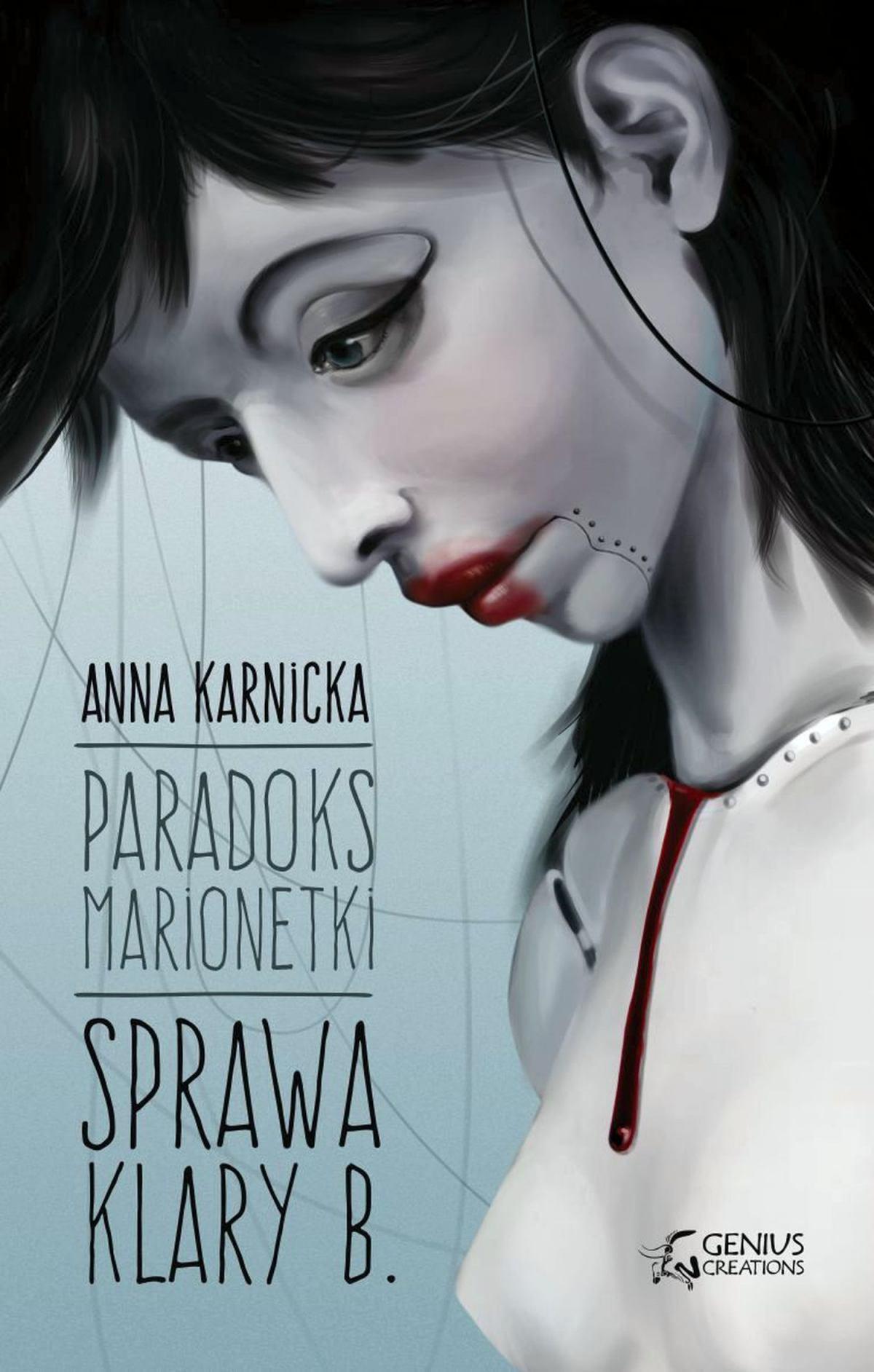Paradoks Marionetki: Sprawa Klary B. - Ebook (Książka EPUB) do pobrania w formacie EPUB