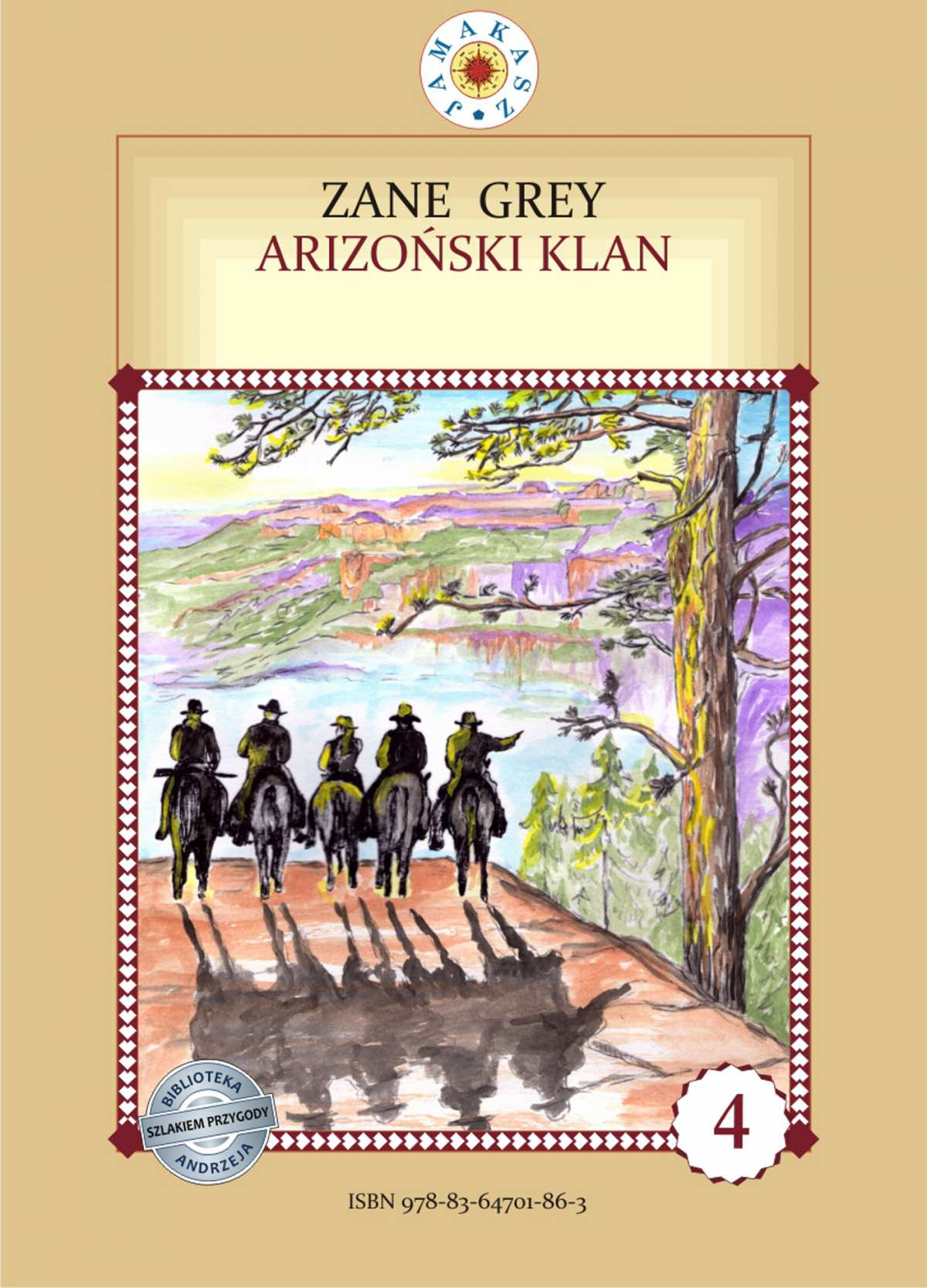Arizoński klan - Ebook (Książka na Kindle) do pobrania w formacie MOBI