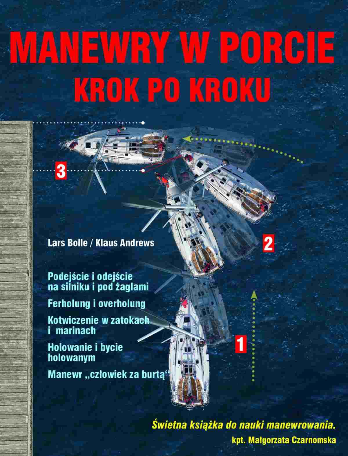 Manewry w porcie krok po kroku - Ebook (Książka PDF) do pobrania w formacie PDF
