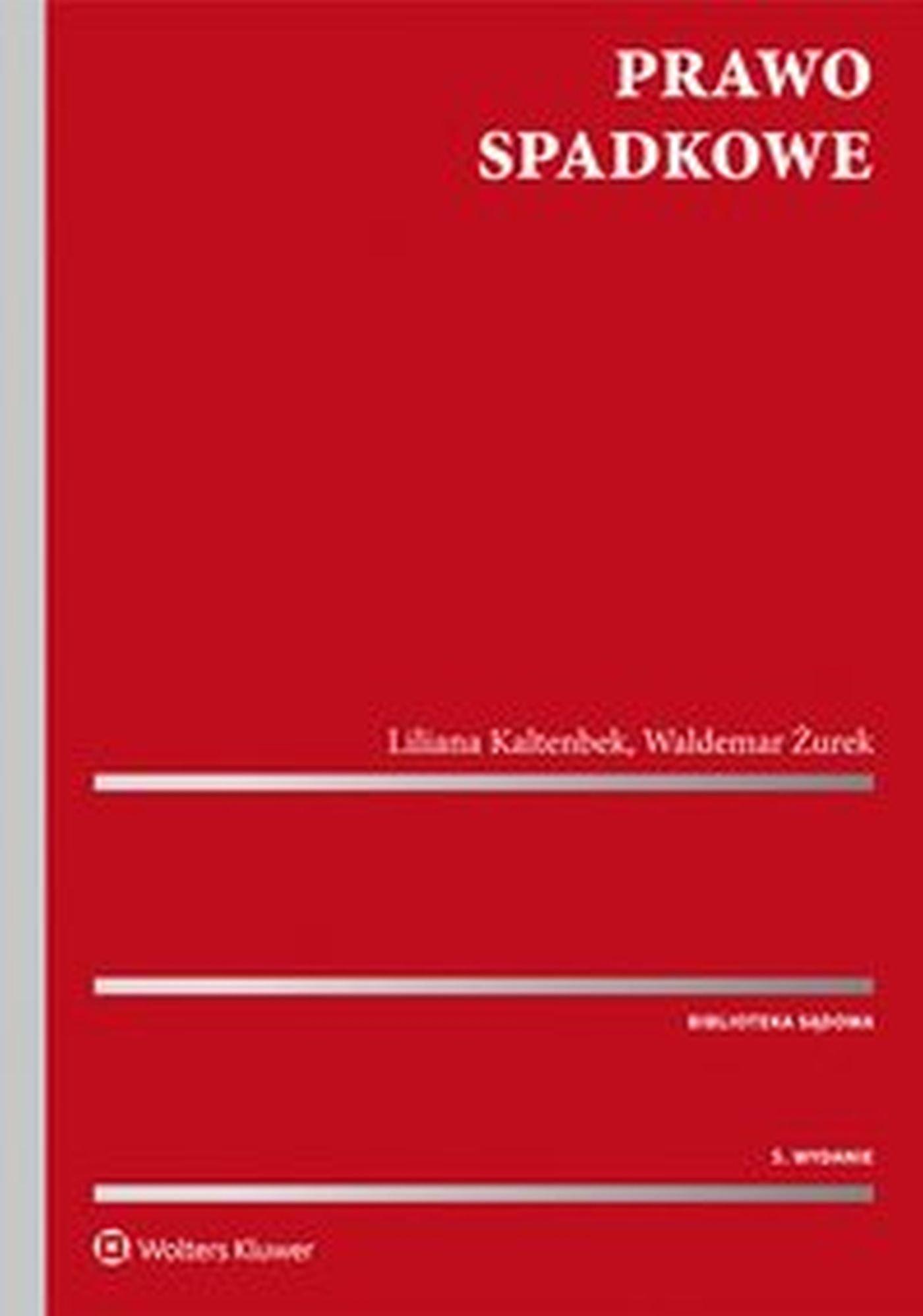 Prawo spadkowe - Ebook (Książka EPUB) do pobrania w formacie EPUB