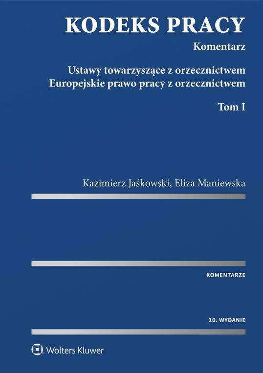 Kodeks pracy. Komentarz - Ebook (Książka PDF) do pobrania w formacie PDF
