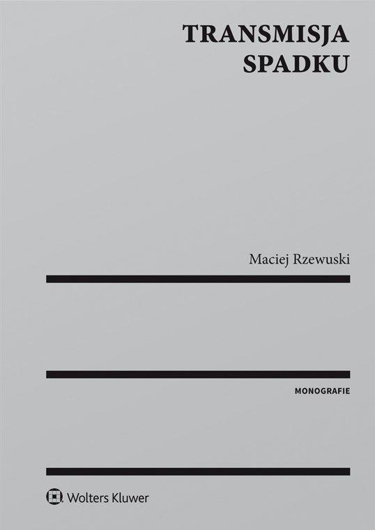 Transmisja spadku - Ebook (Książka PDF) do pobrania w formacie PDF