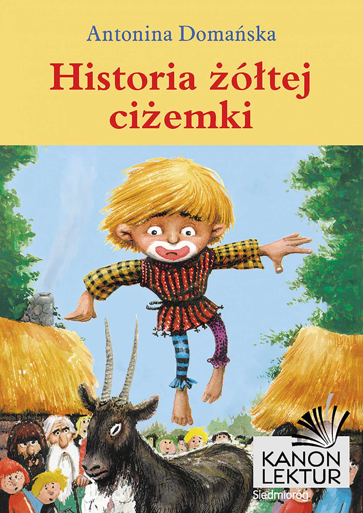Historia żółtej ciżemki - Ebook (Książka EPUB) do pobrania w formacie EPUB