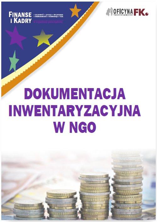 Dokumentacja inwentaryzacyjna w NGO - Ebook (Książka PDF) do pobrania w formacie PDF