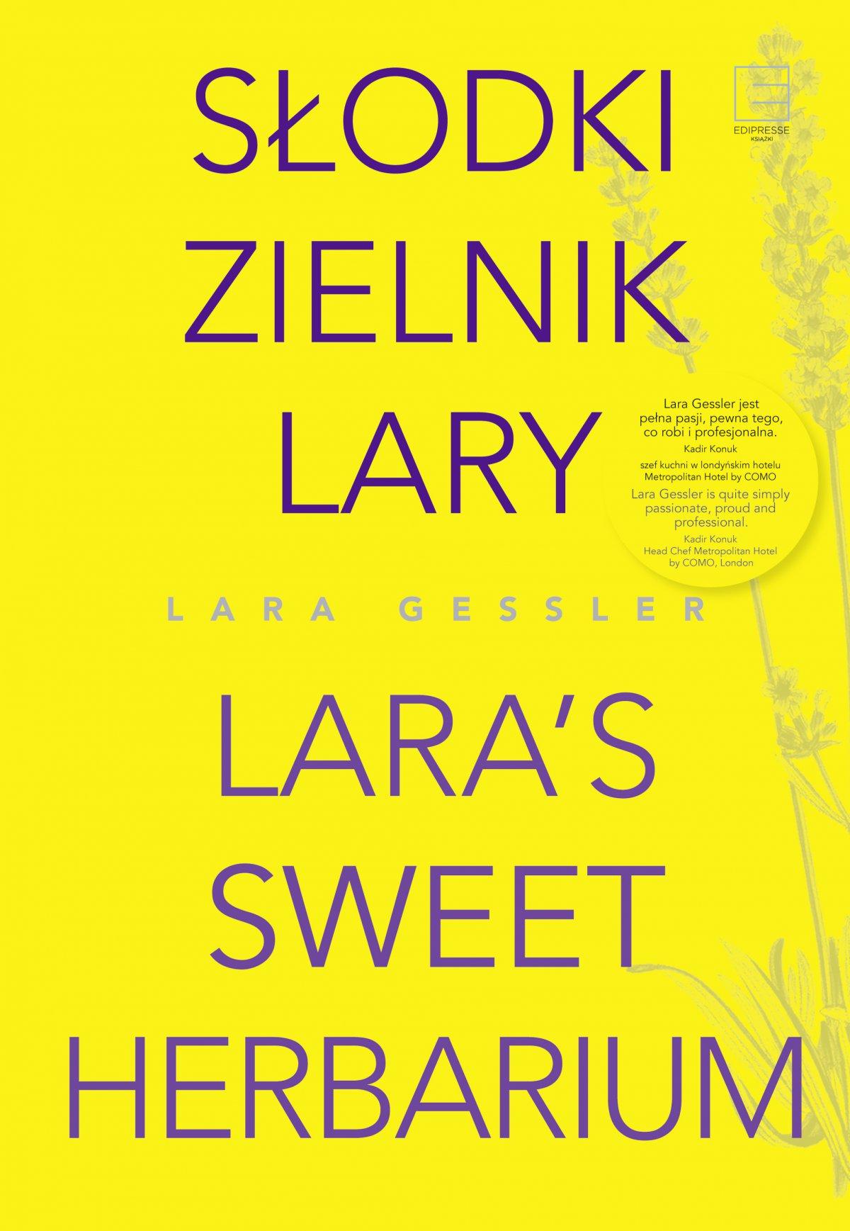 Słodki zielnik Lary - Ebook (Książka EPUB) do pobrania w formacie EPUB