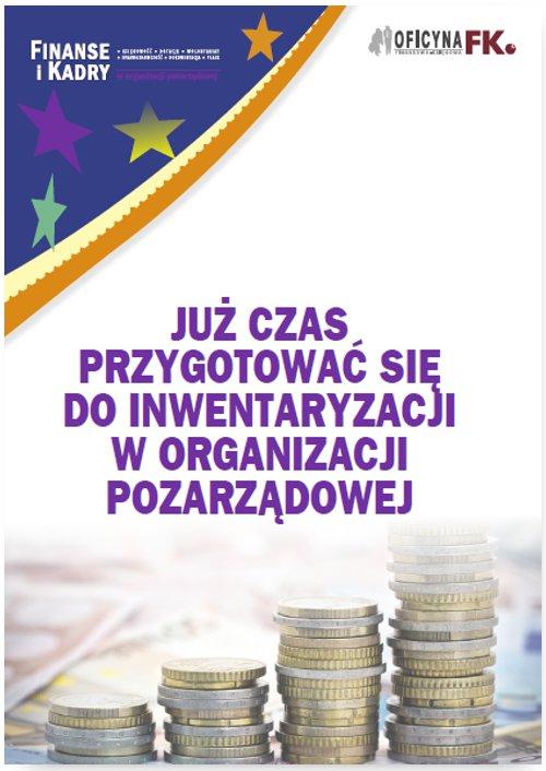 Już czas przygotować się do inwentaryzacji w organizacji pozarządowej - Ebook (Książka PDF) do pobrania w formacie PDF