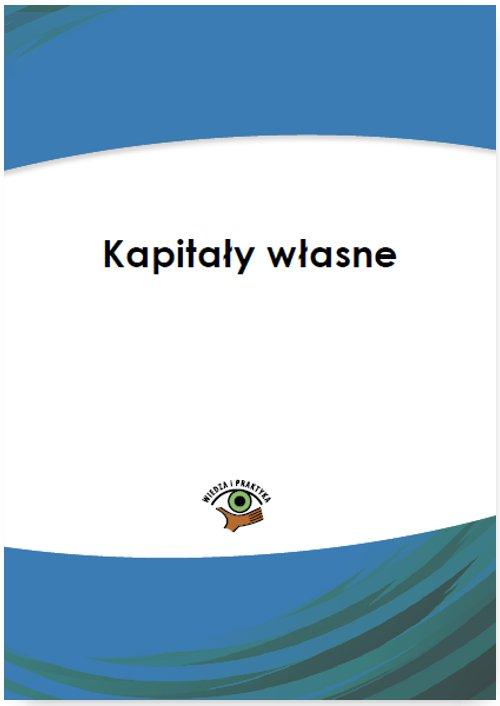 Kapitał własny - Ebook (Książka PDF) do pobrania w formacie PDF