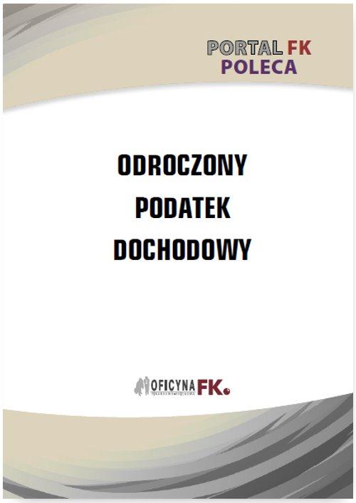 Odroczony podatek dochodowy - Ebook (Książka PDF) do pobrania w formacie PDF