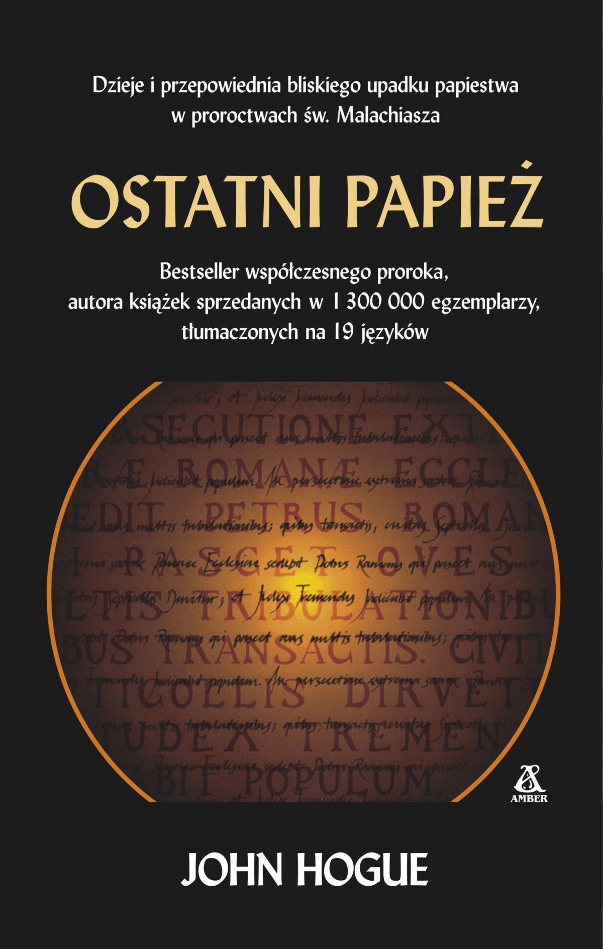 Ostatni papież - Ebook (Książka EPUB) do pobrania w formacie EPUB