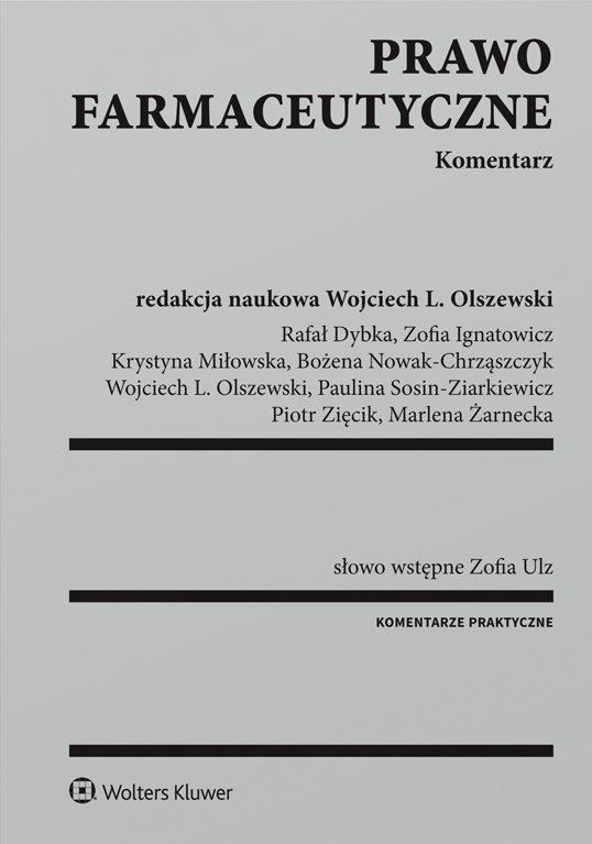Prawo farmaceutyczne. Komentarz - Ebook (Książka PDF) do pobrania w formacie PDF