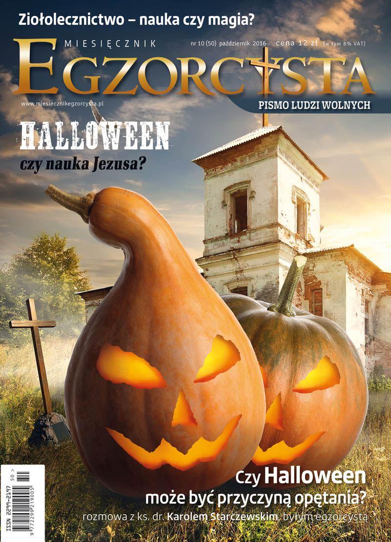 Miesięcznik Egzorcysta 50 - pąździernik 2016 - Ebook (Książka PDF) do pobrania w formacie PDF