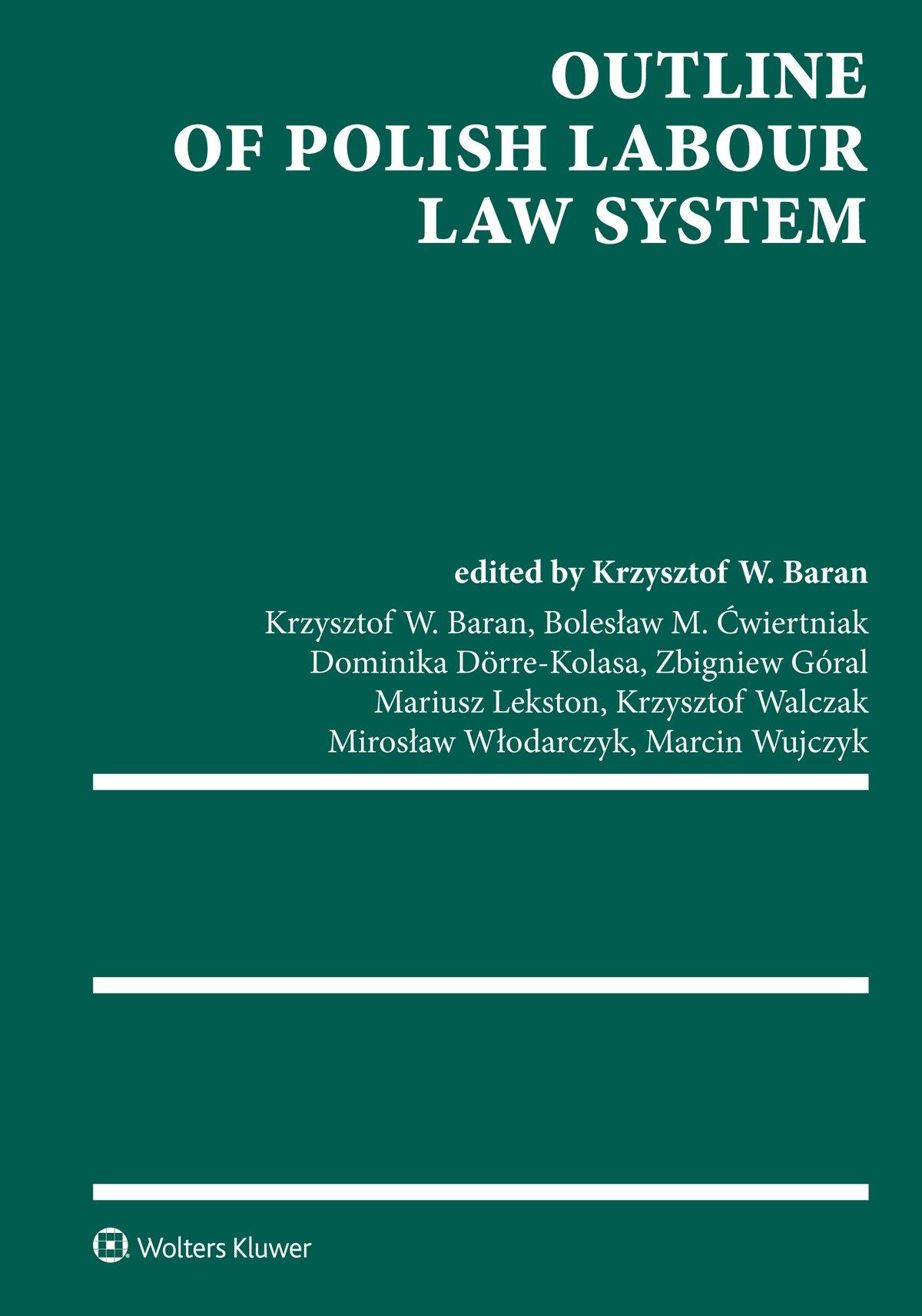 Outline of Polish Labour Law System - Ebook (Książka EPUB) do pobrania w formacie EPUB