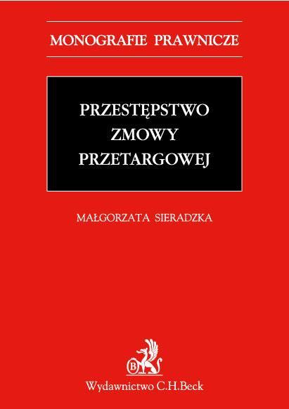Przestępstwo zmowy przetargowej - Ebook (Książka PDF) do pobrania w formacie PDF