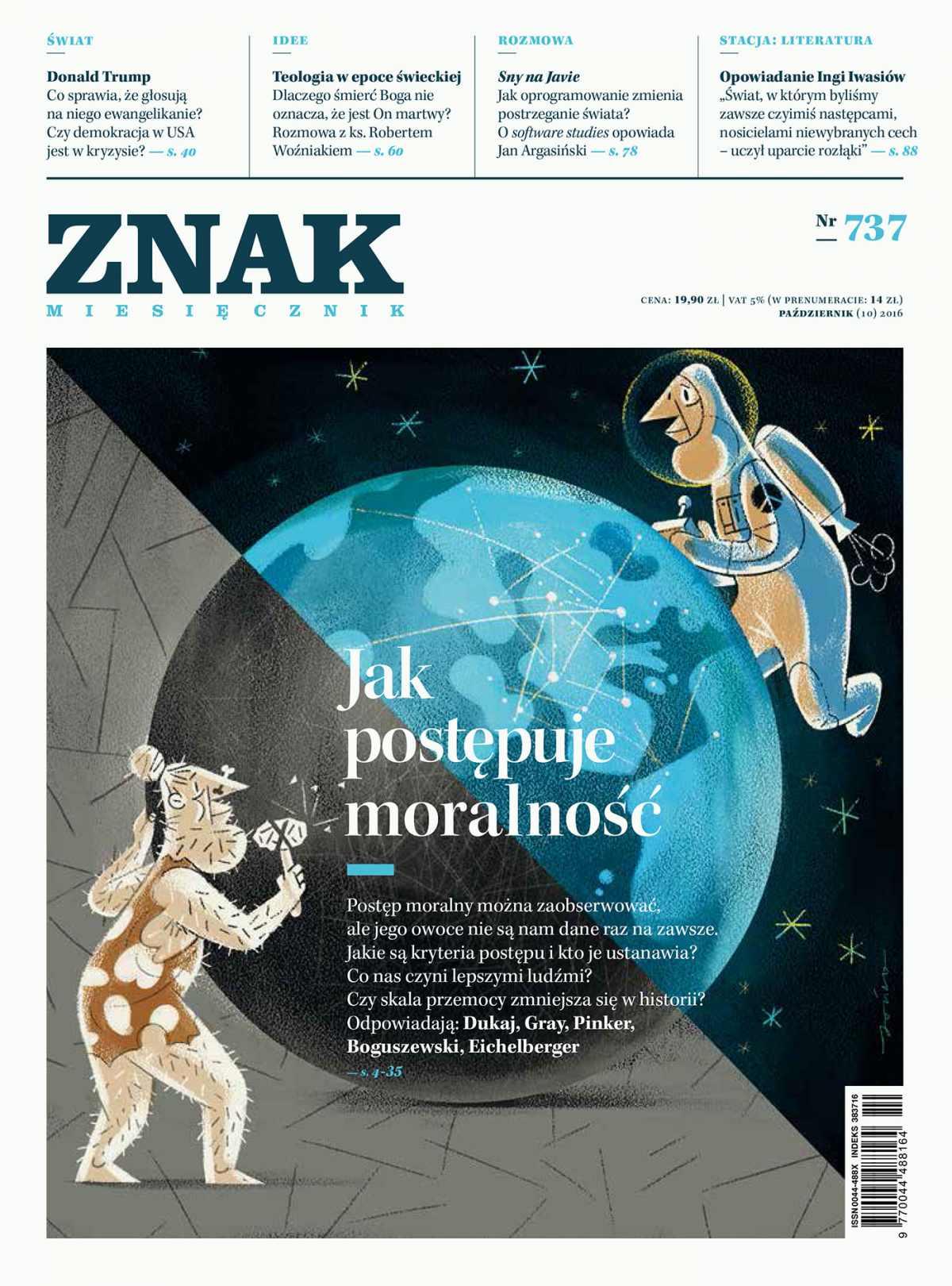 Miesięcznik Znak nr 737: Jak postępuje moralność - Ebook (Książka EPUB) do pobrania w formacie EPUB