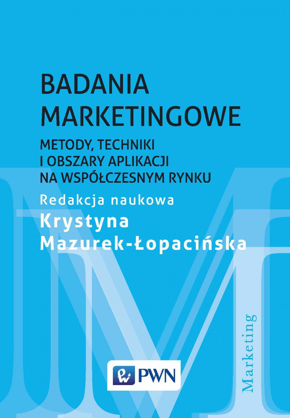Badania marketingowe - Ebook (Książka na Kindle) do pobrania w formacie MOBI