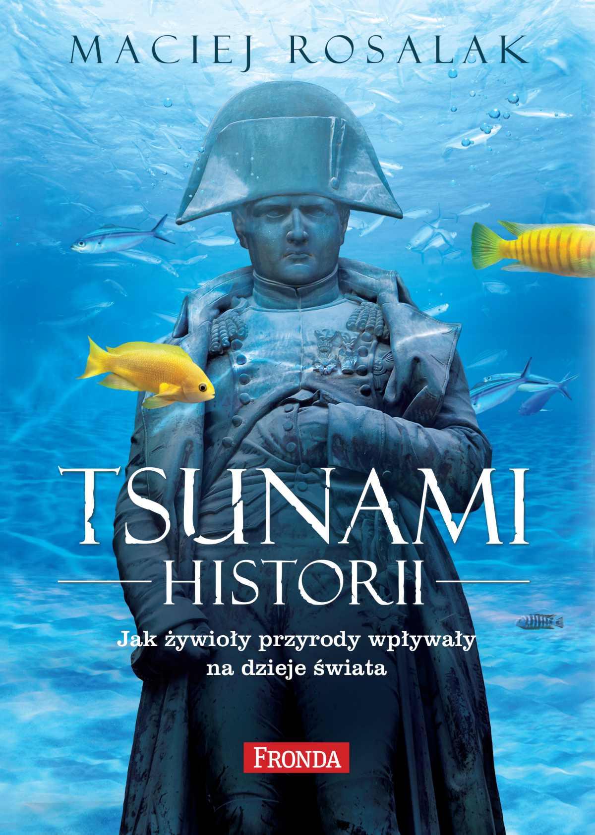 Tsunami historii. Jak żywioły przyrody wpływały na dzieje świata - Ebook (Książka EPUB) do pobrania w formacie EPUB