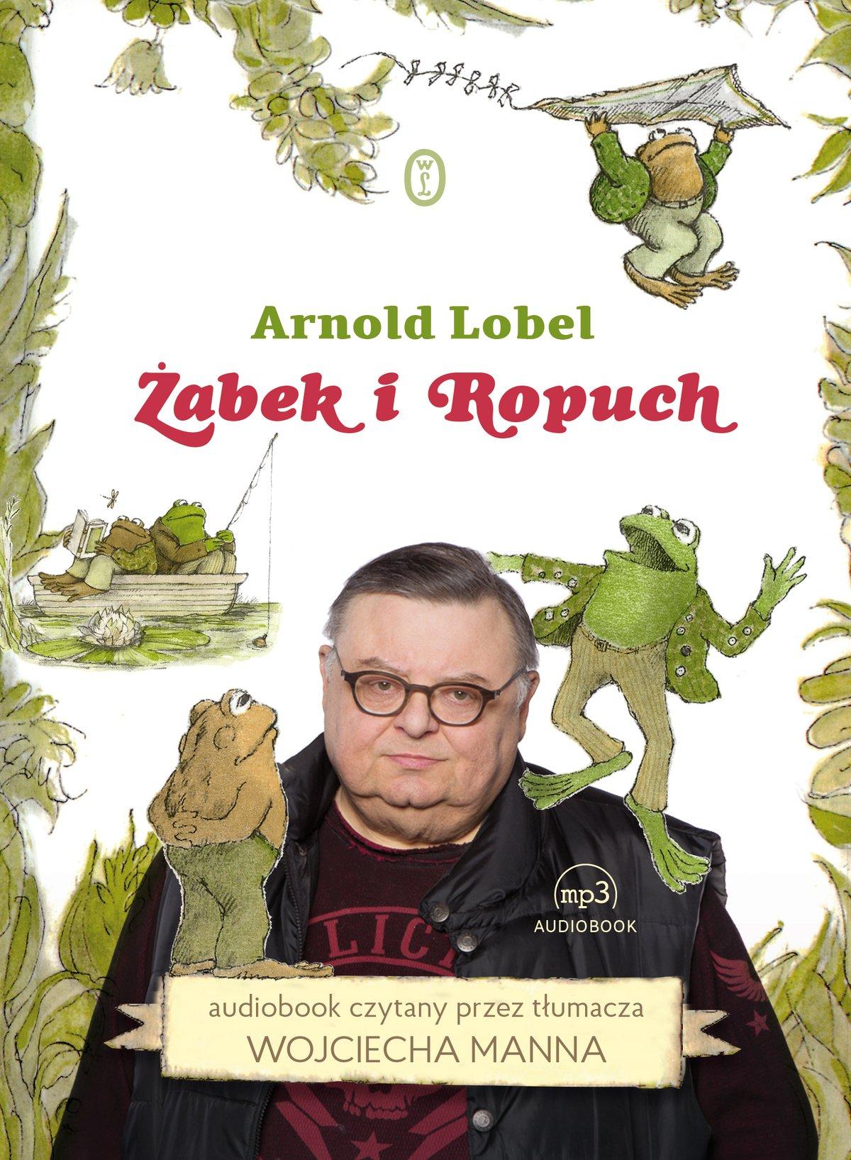 Żabek i Ropuch - Audiobook (Książka audio MP3) do pobrania w całości w archiwum ZIP