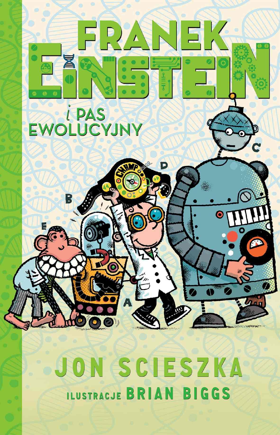 Franek Einstein i pas ewolucyjny - Ebook (Książka EPUB) do pobrania w formacie EPUB