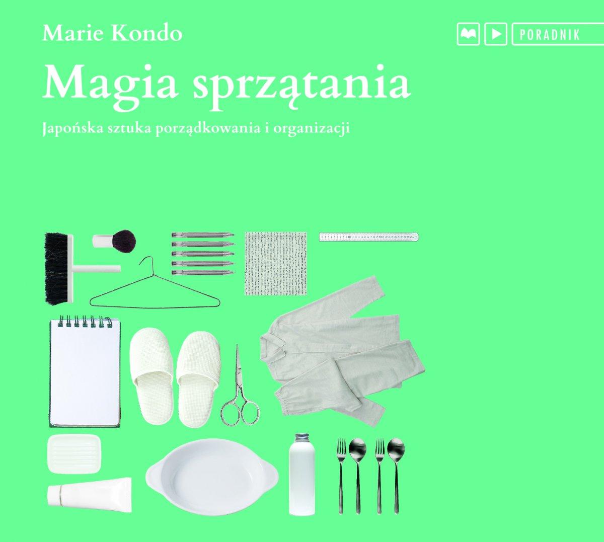 Magia sprzątania - Audiobook (Książka audio MP3) do pobrania w całości w archiwum ZIP