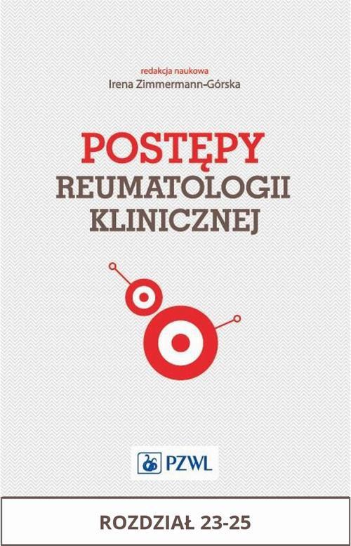 Postępy reumatologii klinicznej. Rozdział 23-25 - Ebook (Książka na Kindle) do pobrania w formacie MOBI