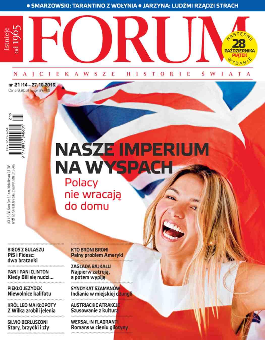 Forum nr 21/2016 - Ebook (Książka PDF) do pobrania w formacie PDF