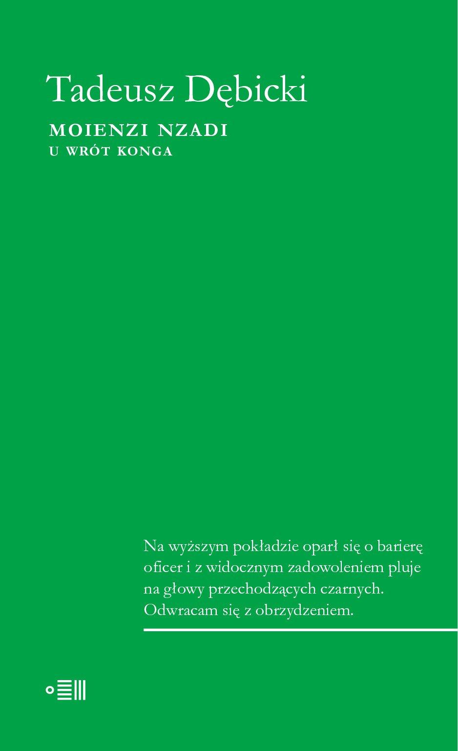Moienzi Nzadi. U wrót Konga - Ebook (Książka EPUB) do pobrania w formacie EPUB