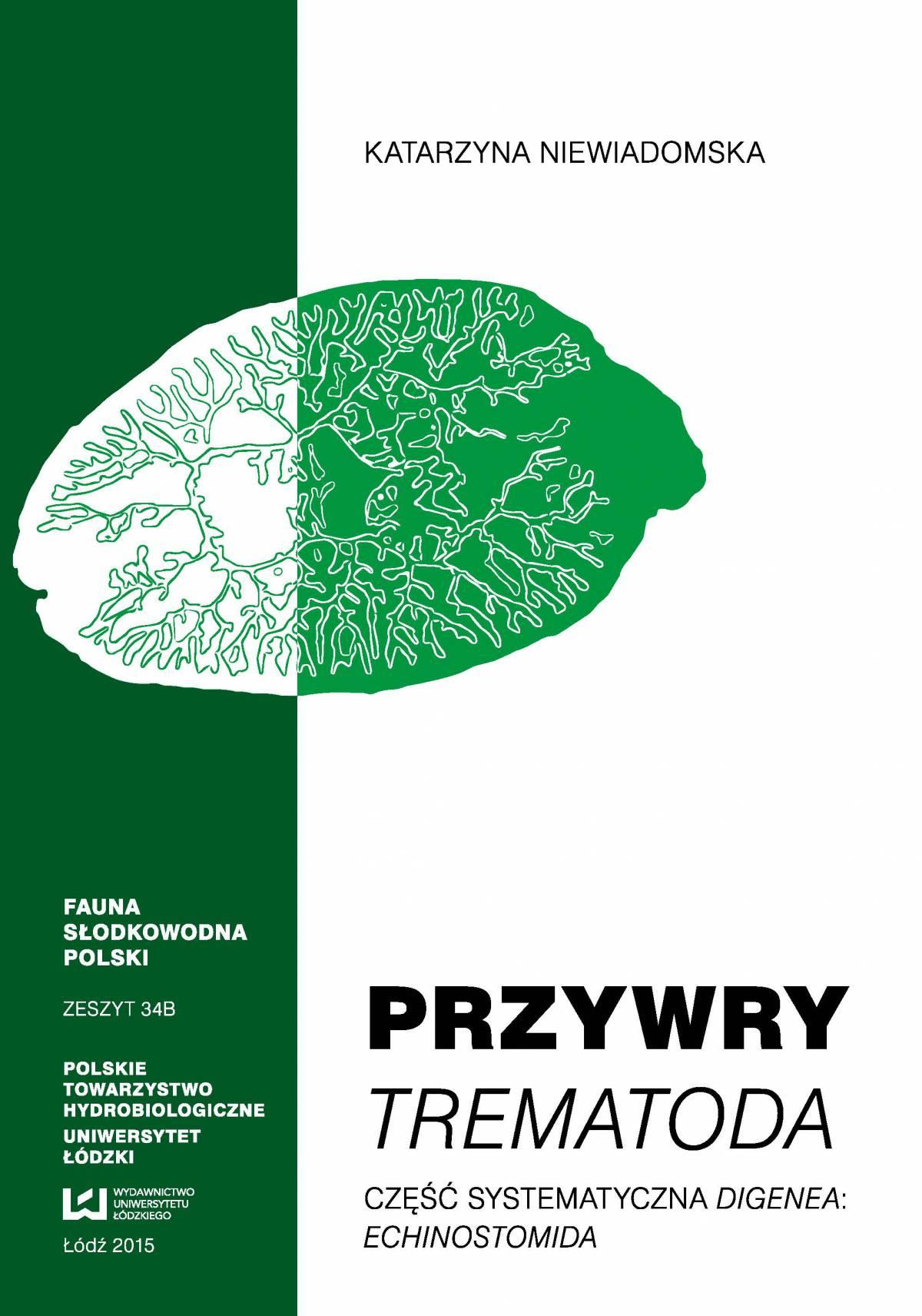 Przywry Trematoda. Część systematyczna Digenea: Echinostomida - Ebook (Książka PDF) do pobrania w formacie PDF
