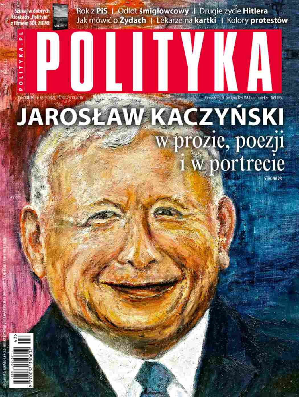 Polityka nr 43/2016 - Ebook (Książka PDF) do pobrania w formacie PDF
