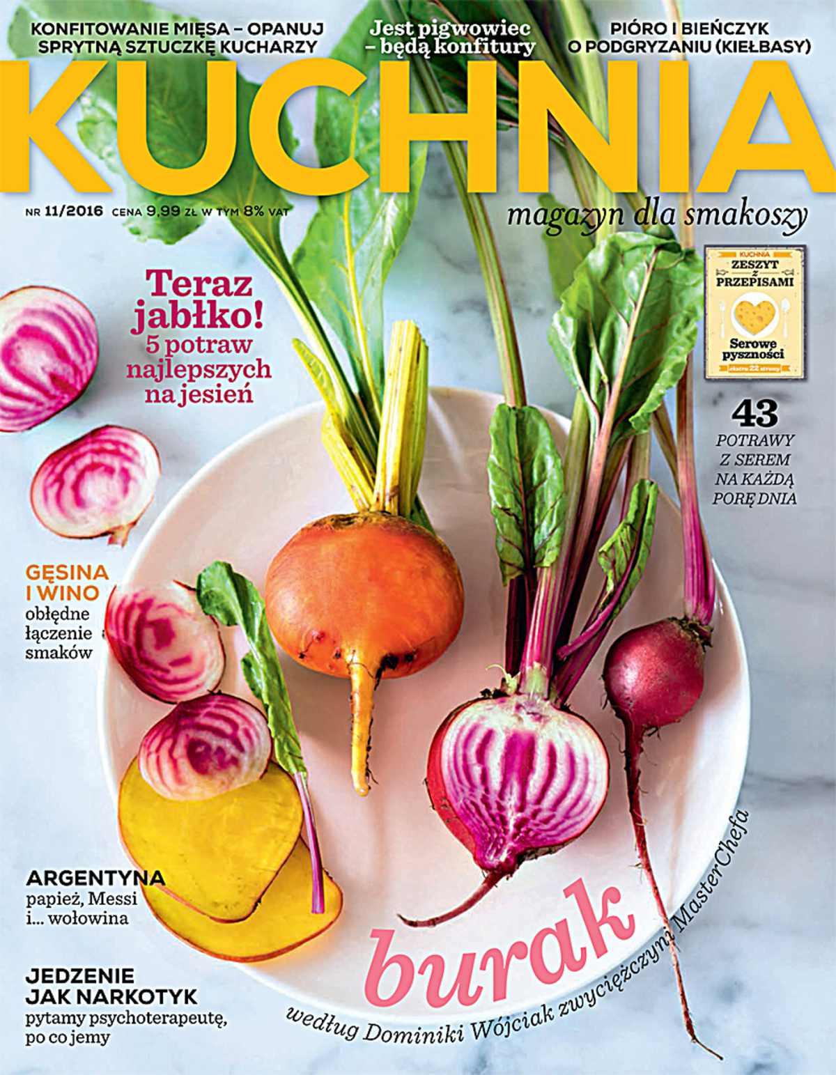 Kuchnia 11/2016 - Ebook (Książka PDF) do pobrania w formacie PDF