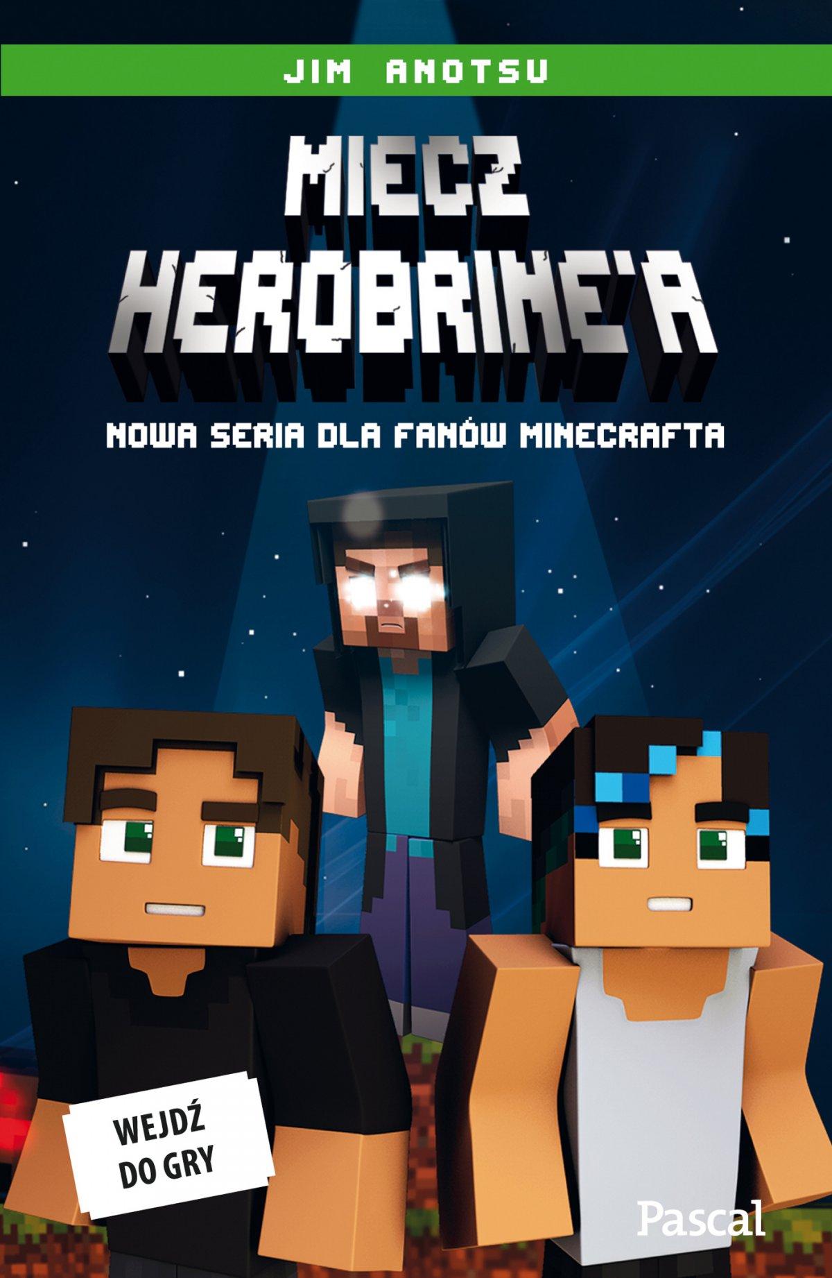 Miecz herobrinea minecraft - Ebook (Książka EPUB) do pobrania w formacie EPUB