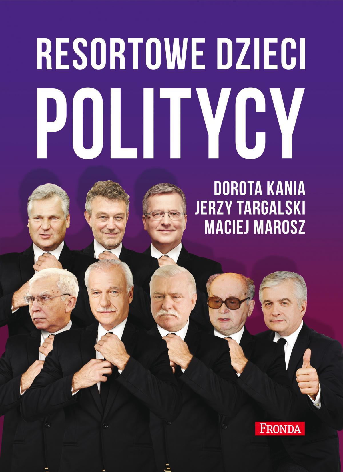 Resortowe dzieci. Politycy - Ebook (Książka EPUB) do pobrania w formacie EPUB
