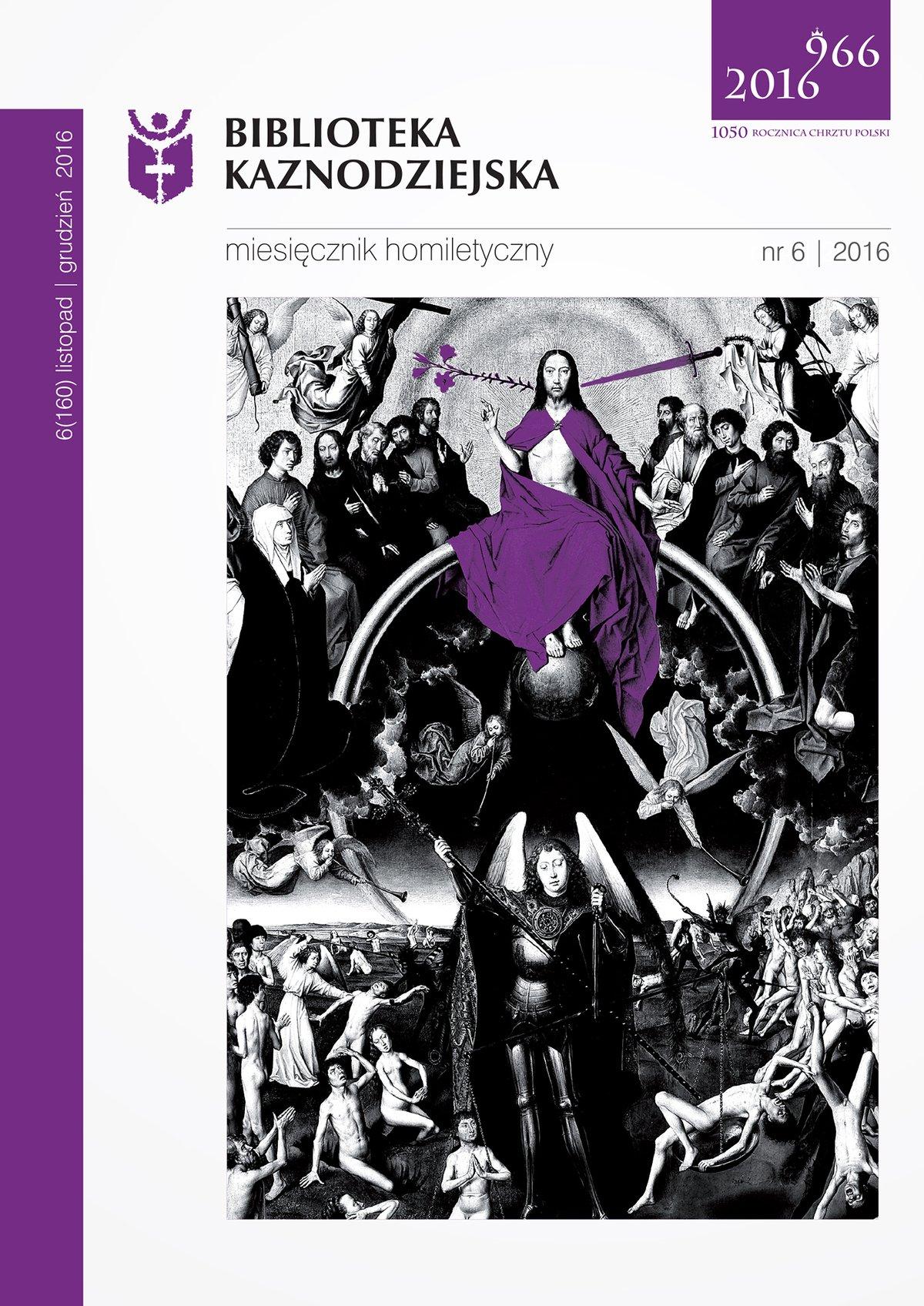 Biblioteka Kaznodziejska nr 06/2016 - Ebook (Książka na Kindle) do pobrania w formacie MOBI