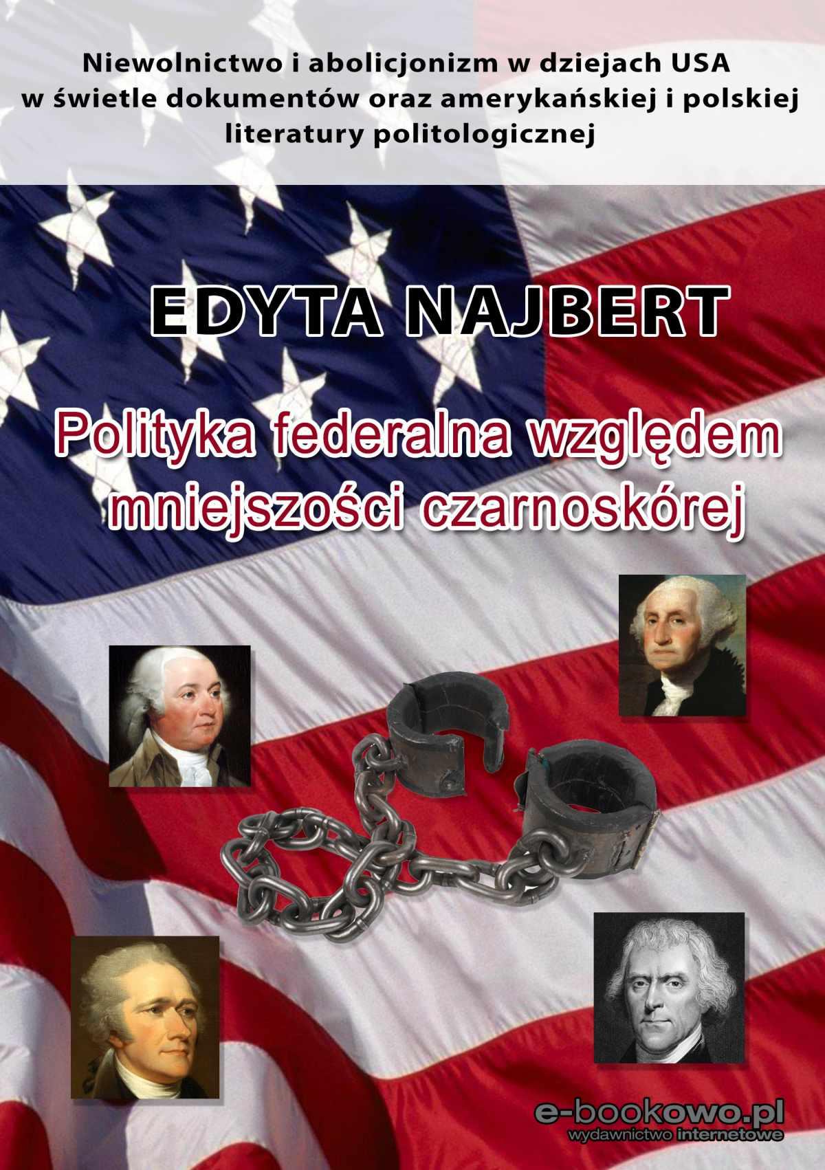 Polityka federalna względem mniejszości czarnoskórej - Ebook (Książka PDF) do pobrania w formacie PDF