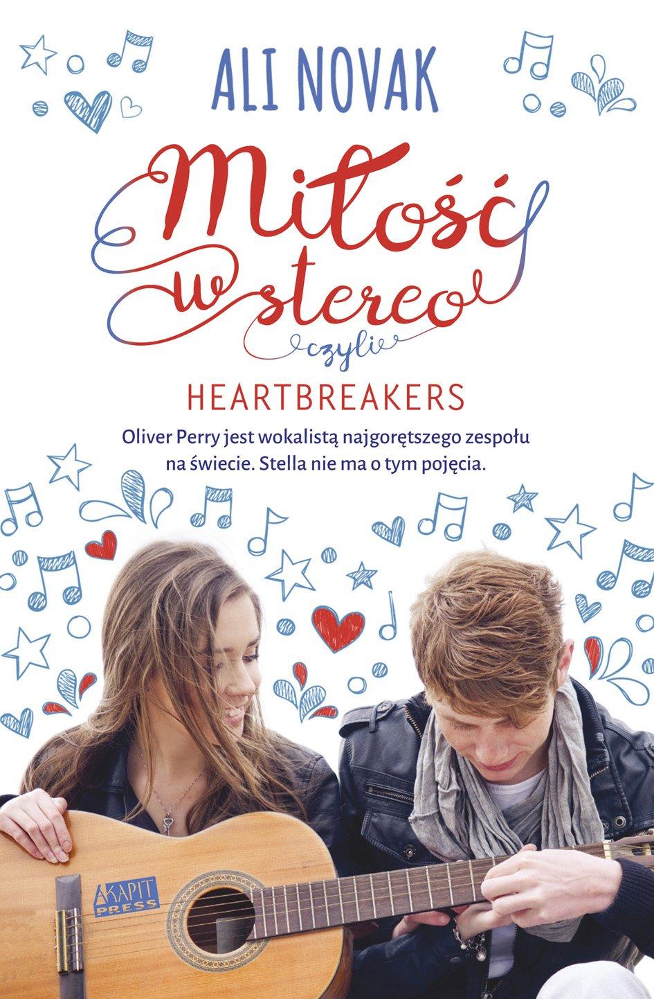 Miłość w stereo, czyli Heartbreakers - Ebook (Książka EPUB) do pobrania w formacie EPUB