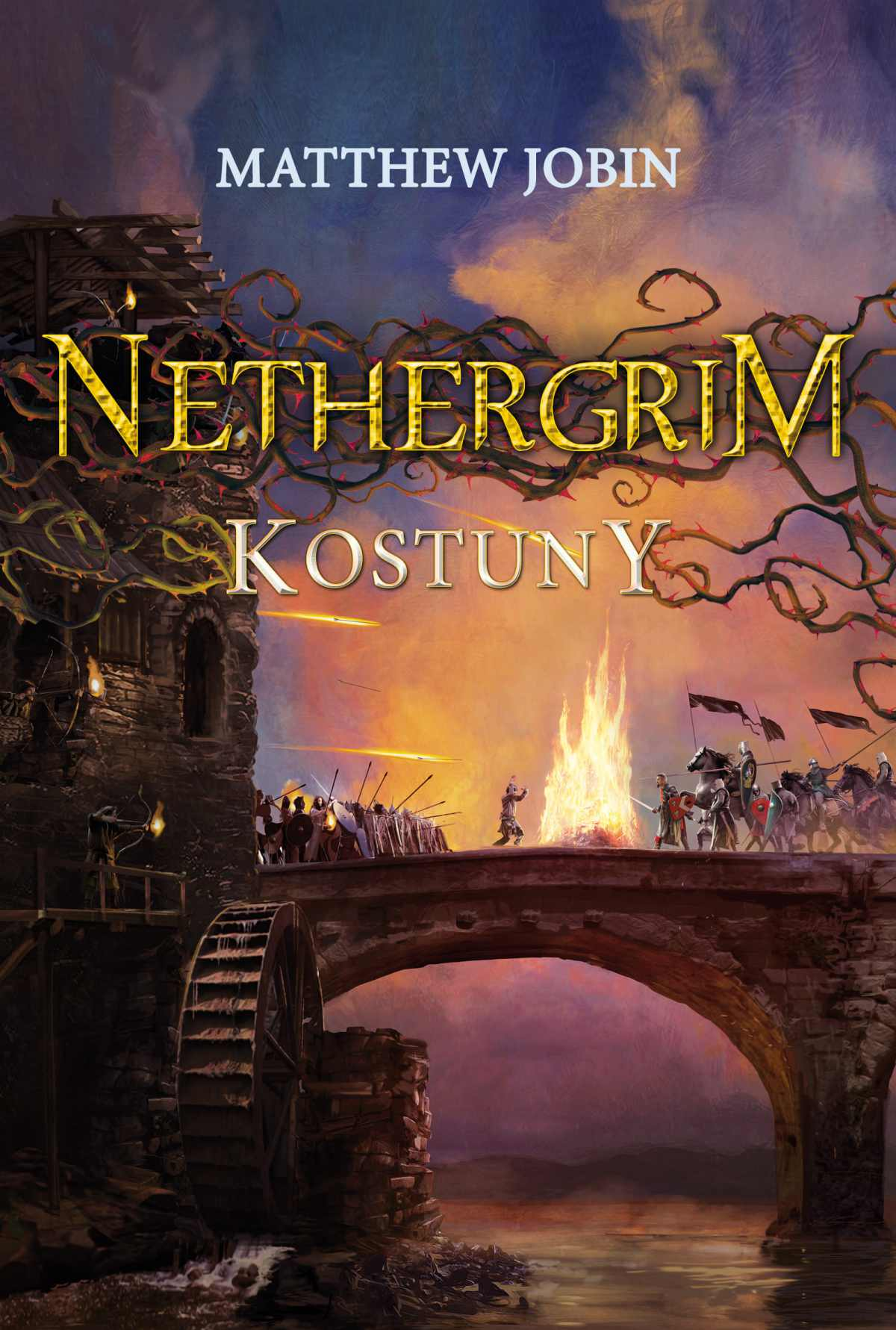 Nethergrim 2. Kostuny - Ebook (Książka na Kindle) do pobrania w formacie MOBI