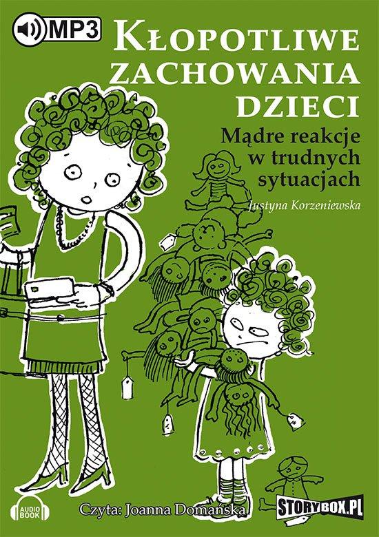 Kłopotliwe zachowania dzieci - Audiobook (Książka audio MP3) do pobrania w całości w archiwum ZIP