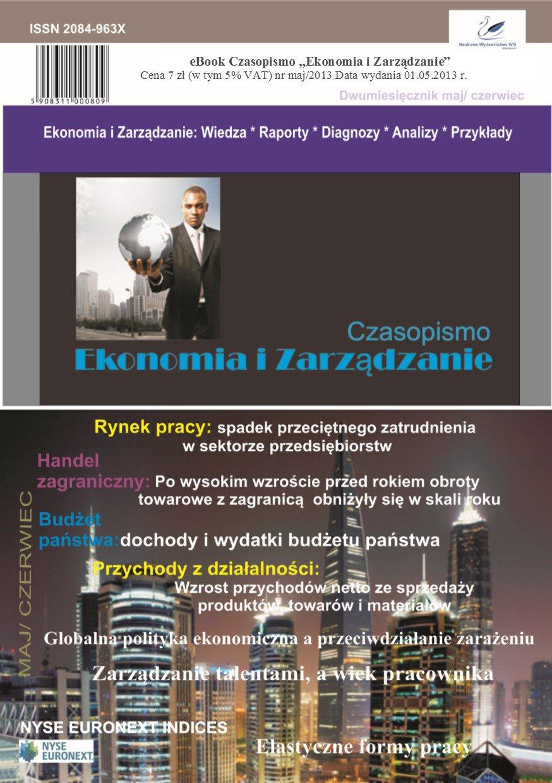 Czasopismo Ekonomia i Zarządzanie nr 3 maj/2013 - Ebook (Książka PDF) do pobrania w formacie PDF
